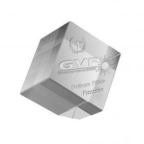 Trophées Cube pan coupé